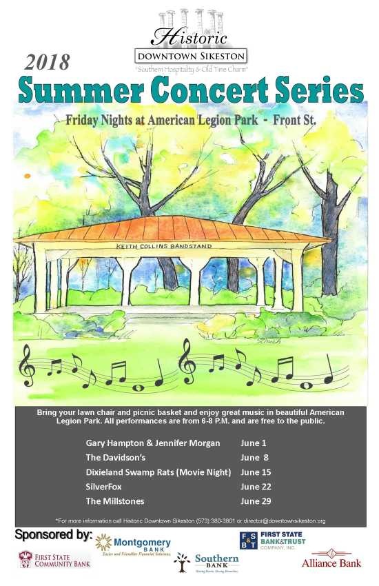 Past Music In The Park