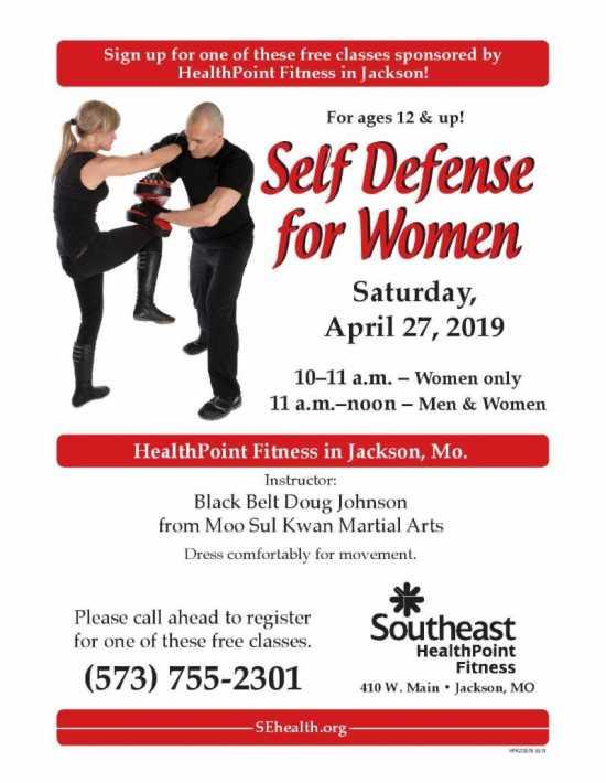 free self defense classes near me